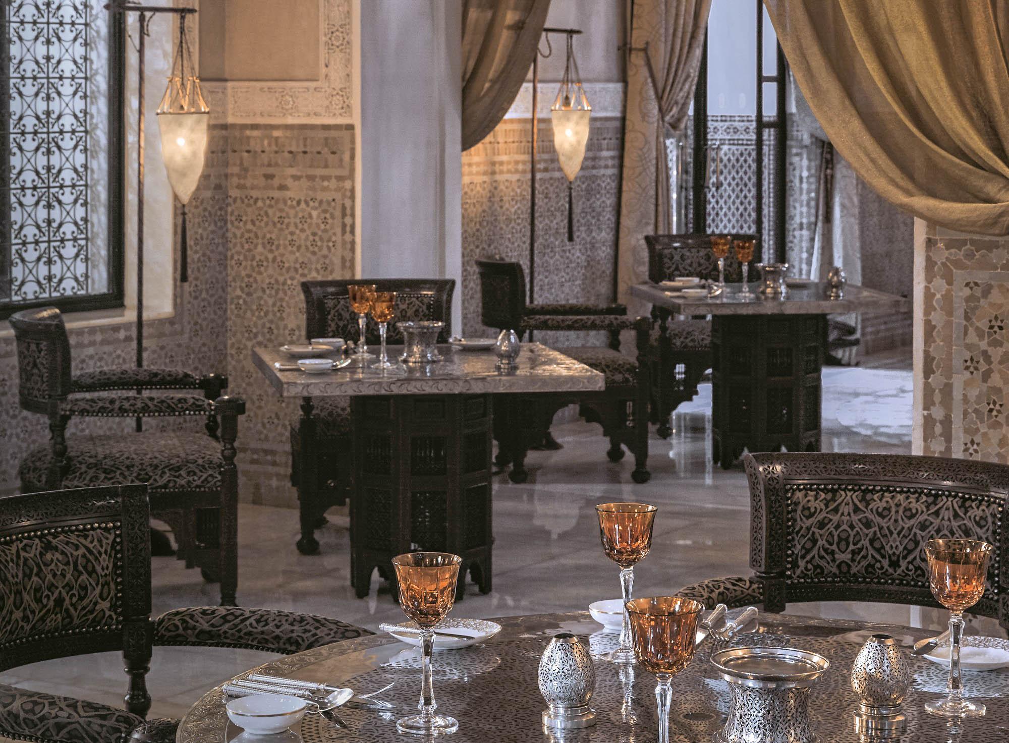 Marrakech Decoration D Interieur la table marocaine - royal mansour marrakech